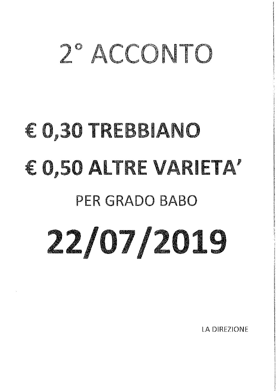 2 ACCONTO VENDEMMIA 2018