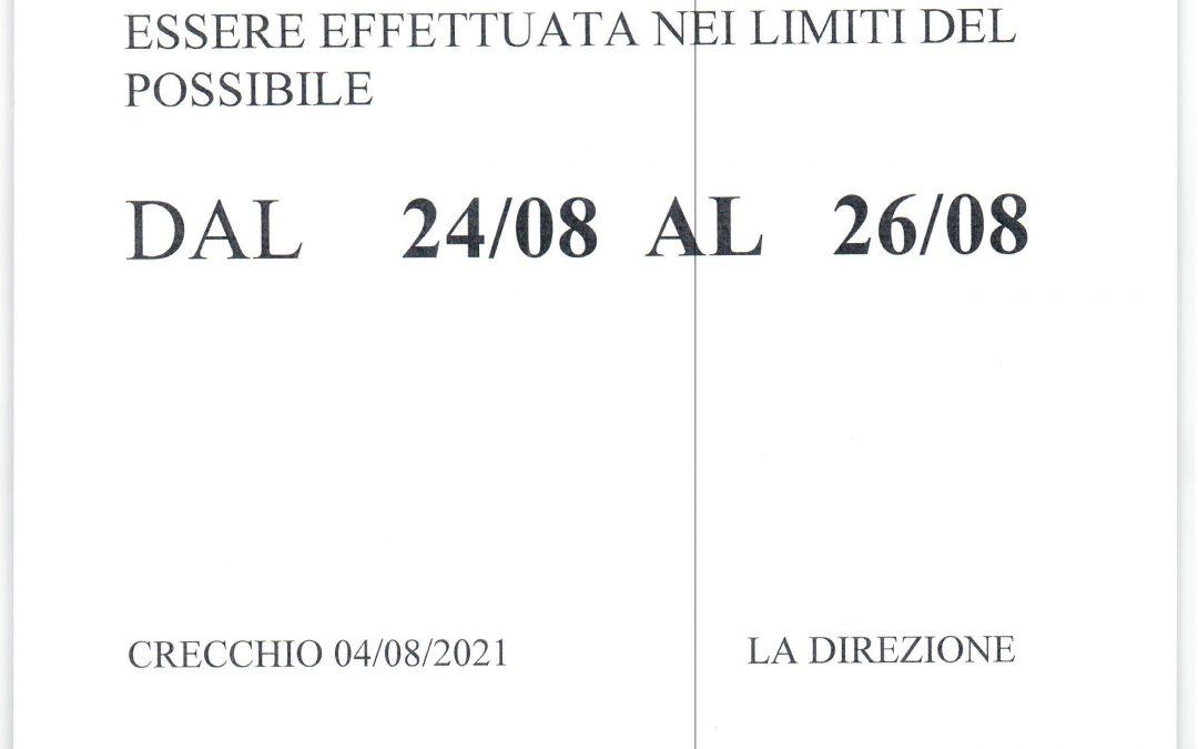 RACCOLTA  MOSCATO VENDEMMIA 2021